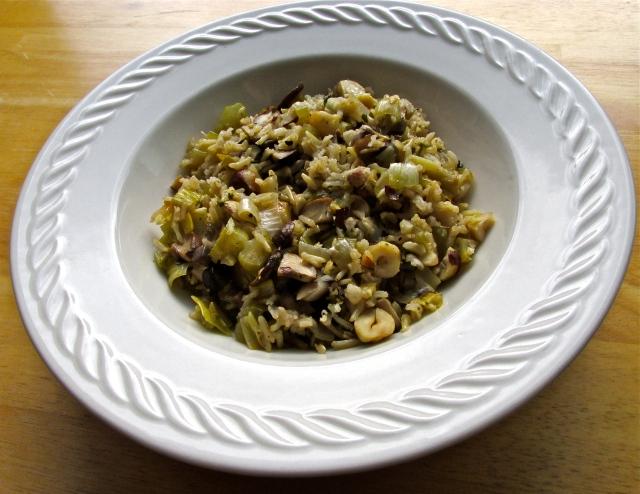 Mushroom Pilaf 2