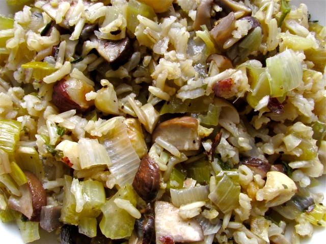 Mushroom Pilaf