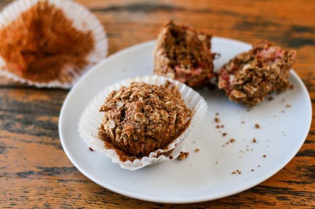 Rhubarb Beet Muffins-1