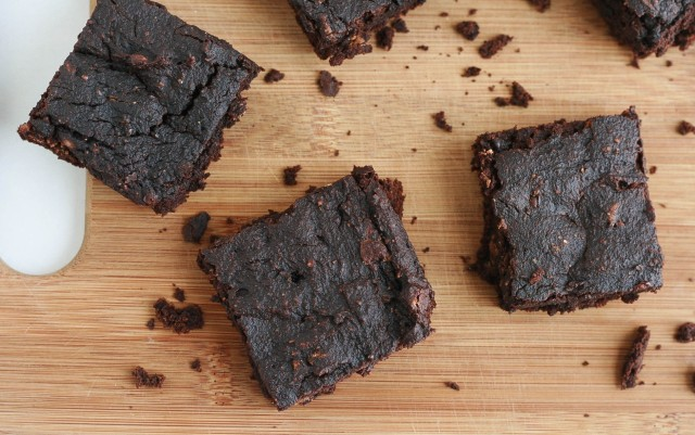 Pumpkin Brownies-1-2