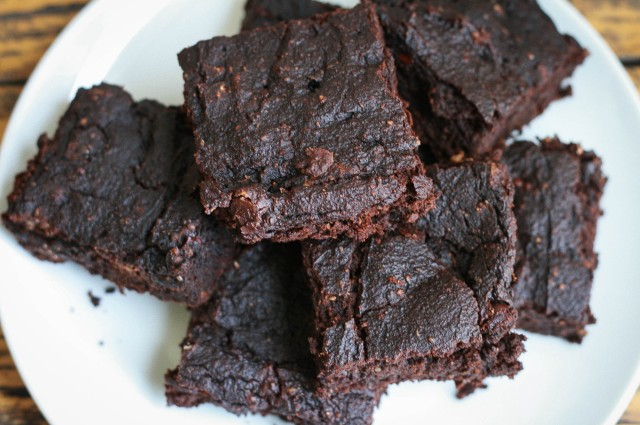 Pumpkin Brownies-7